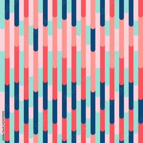 Materiał do szycia Tekstura tło kolorowe pionowe paski. Wektor wibrujący wzór, modny kolor połączenie. Element ozdobny projekt do druku, karty, baner, okładka, zaproszenie, włókienniczych, meble, web