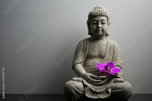 Foto op Aluminium Boeddha Entspannung mit Buddha