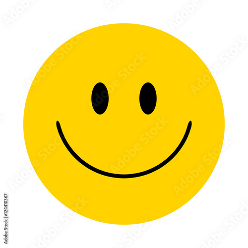 Fotografie, Obraz  Smiley. Vector happy face