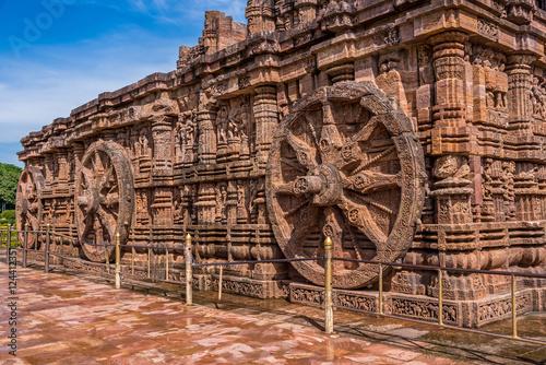 Chariot wheels at Sun temple Konark