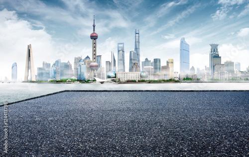 Foto op Aluminium Shanghai Modern city skyline