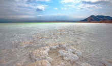 LAKE ASSAL,DJIBOUTI-FEBRUARY 06,2013:The Saltiest Lake In The World. The Lowest Point Of Africa