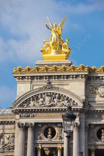 Leinwand Poster Opera of Paris