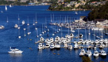 Moored Yachts At The Spit (Syd...