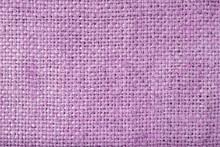 Purple Sack Texture Background.Dark Purple Sack Background.Dark Violet Sack Background
