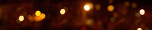 Color Abstract Blurred Christmas Night Background Panorama