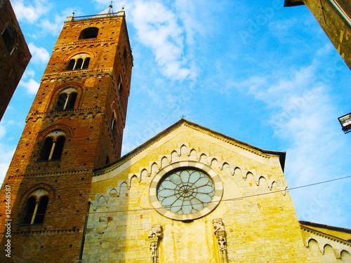 Photo View of Albenga Cathedral - Albenga, Savona, Liguria, Italy