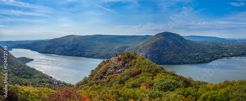Fotografia, Obraz Panoramic view from Breakneck Ridge