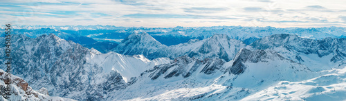 Deurstickers Alpen The Alps