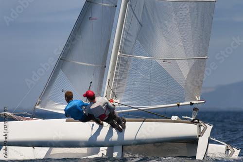 Foto op Plexiglas Zeilen sail boat race