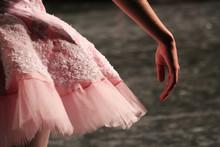 Close-up Of A Ballerina Waitin...