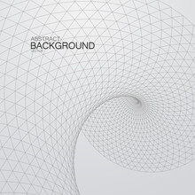 3D Cyberspace Grid.