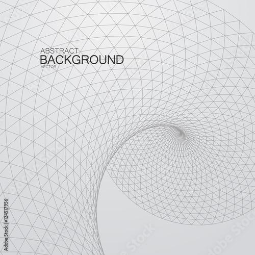 Fotografía  3D cyberspace grid.