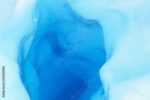 Fototapety, obrazy: Detail of a tunnel in a glacier.