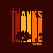 Thanksgiving Turkey Abstract Background