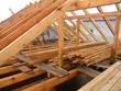 Attic Construction. Roofing Construction.