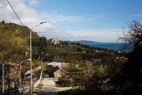 Photo New Athos,Abkhazia, Monastery of St. Simon the Canaanite