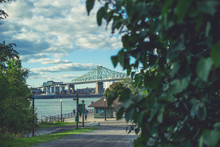 Jacques-Cartier Bridge Of Montreal Quebec Canada