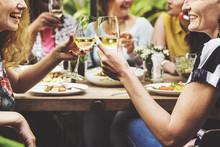 Girlfriends Meetup Hangout Din...