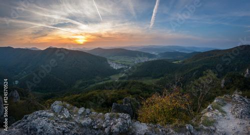 Fototapety, obrazy: Slovakian mountains Sulov