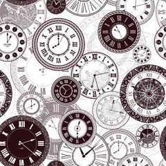 FototapetaVector vintage clock dials set