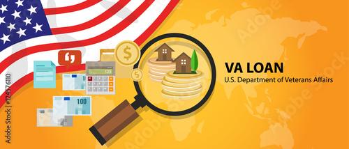 Fotografía  VA Loan mortgage loan in the United States guaranteed by the U