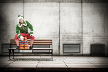 Xmas Time And Elf