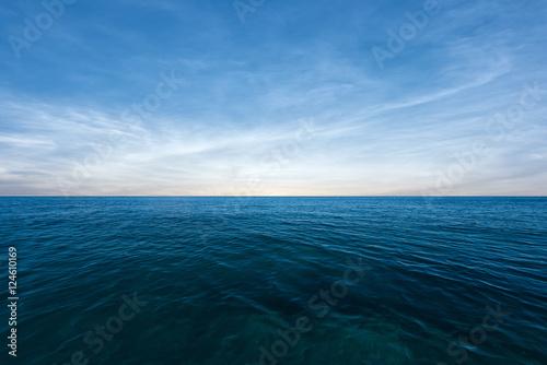 Poster Zee / Oceaan Blue sea and perfect sky