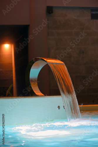 Photo  Relaxation pool in spa