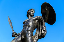 Statue Of Achilles In Hyde Park, London