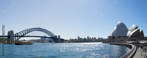 Foto op Canvas Sydney Iconic Sydney Harbour bridge