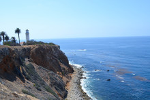 Lighthouse In San Pedro California.