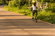 ride bicycle