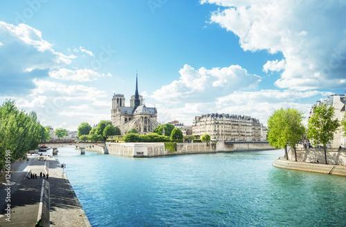 Poster de jardin Paris Notre Dame Paris, France