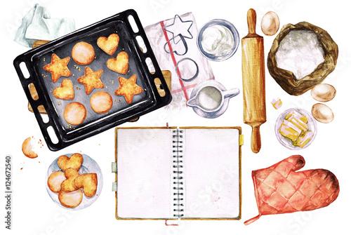 Fotografie, Obraz  Baking Cookies