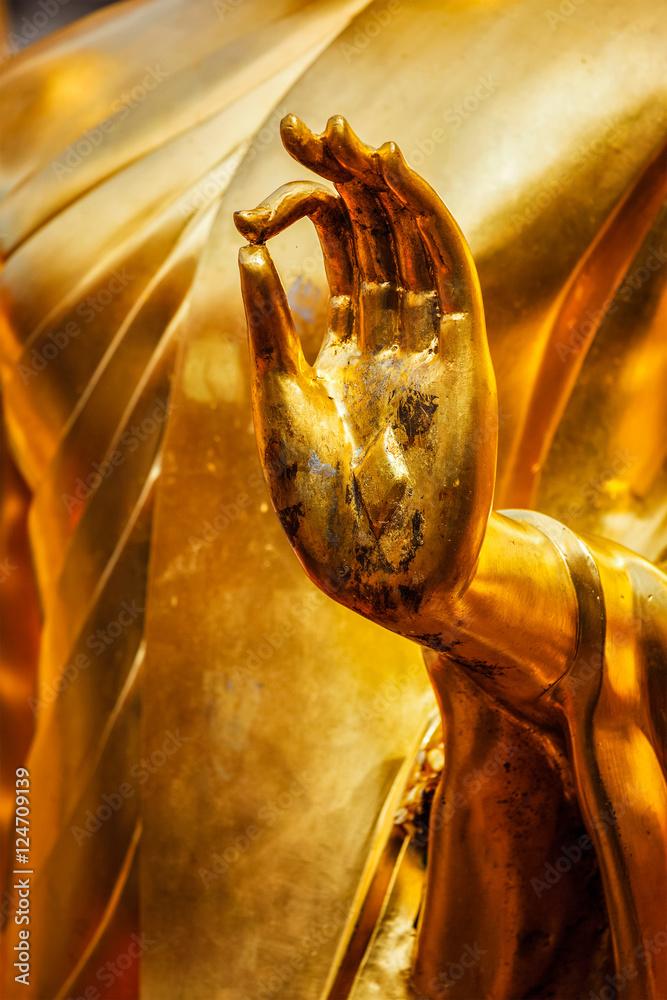 Fotografía Buddha statue hand, Chiang Mai, Thailand