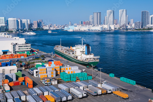 Wall Murals Port 東京港