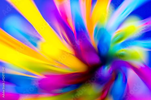 Spoed Fotobehang Spiraal Farbspirale als Hintergrund
