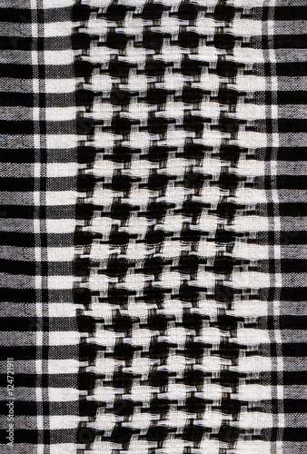 Photo  background with houndstooth fabric pattern