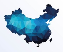 Polygonal Map Of China