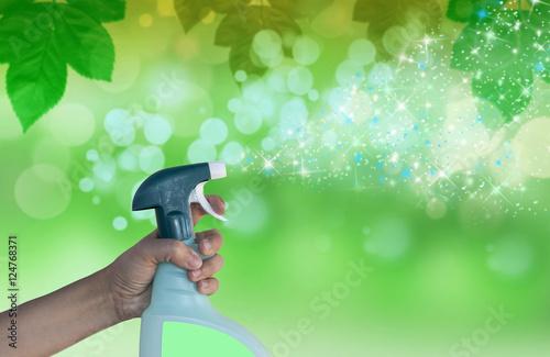 Fotografie, Obraz  limpieza del hogar