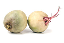 Two Watermelon Radish Isolated...