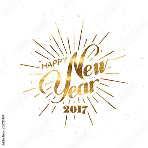 Happy New 2017 Year. Fototapete