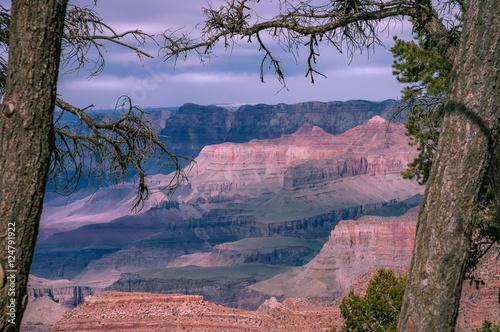 Fotografia Grand Canyon scenic view of South Rim