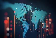 Big Data Futuristic Visualizat...