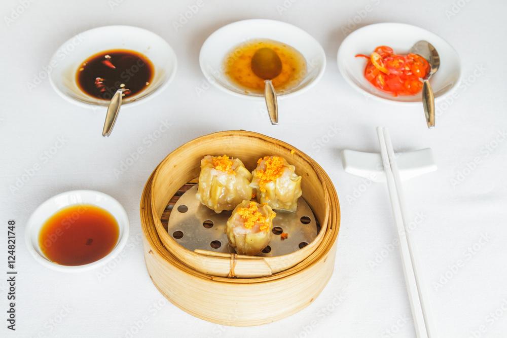 Photo  Steamed pork dumpling
