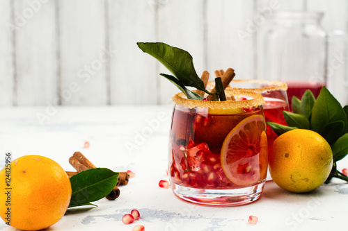 Fall and winter sangria