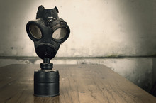 Old Military Gas Mask