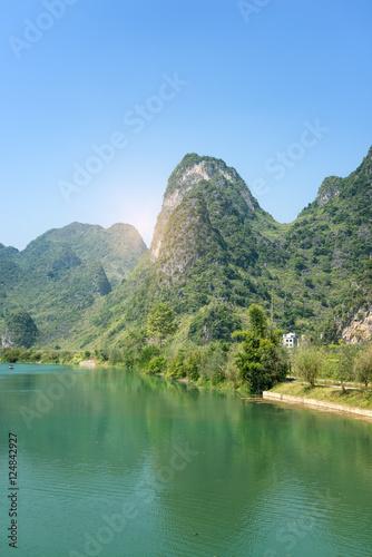 Wall Murals Guilin landscape in GuangXi, China