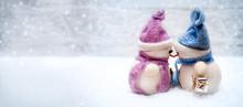 Snowmen Love On Christmas